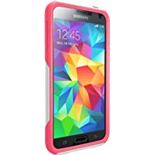 Otterbox Commuter Series Samsung Galaxy S5 Case - Retail Packaging Protective Case for Galaxy S5 - Neon Rose (White/Pink)