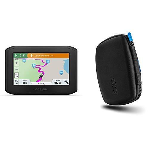 Garmin Zumo 396 LMT-S, Motorcyle GPS with Protective Garmin Carrying Case 010-02019-00