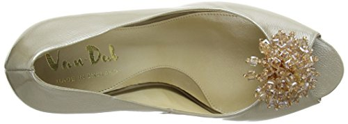 Van Dal Holkham - zapatos de tacón de charol mujer Blanco - Champagne Feature