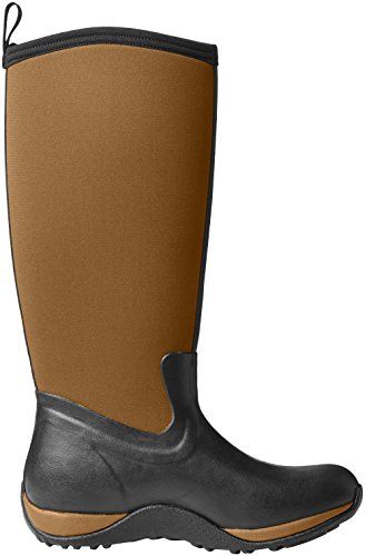 Women's Boot Boots Black Rubber Arctic Adventure Tan Winter Muck Tall w0fqp1cX
