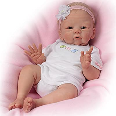 Doll: Snuggle Bunny Baby Doll by The Bradford Exchange