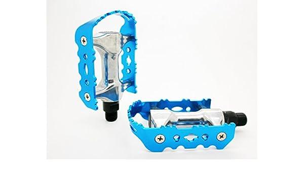 Pedales Clasicos de Aluminio Eje Cr-Mo Para Bicicleta Btt Mtb ...