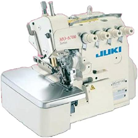 JUKI MO-6714S máquina de Coser Industrial de 4 Hilos: Amazon.es: Hogar