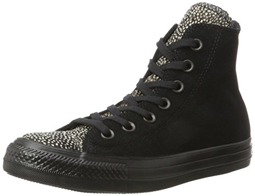 Converse All black Mixte Baskets 001 black Chuck Star Taylor Noir Adulte black Hautes f4nfqgAR