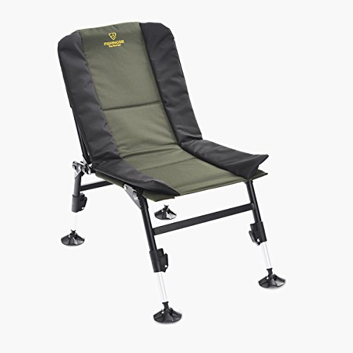 Adjustable Light Weight Fishing Camping Chairs with Telescopic Legs (Comfy Deck Chairs)