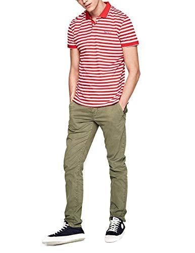 Polo Pepe Jeans Jerome Rojo L Rojo: Amazon.es: Ropa y accesorios