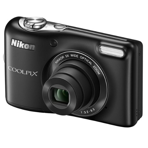 nikon-coolpix-l30-201-mp-digital-camera-with-5x-zoom-nikkor-lens-and-720p-hd-video-black