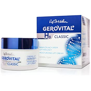 GEROVITAL H3 CLASSIC, Moisturizing Lift Day Cream (With Hyaluronic Acid)