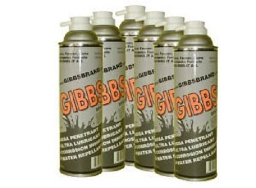 Gibbs Brand Lubricant (12-12oz cans, one case) by Gibbs