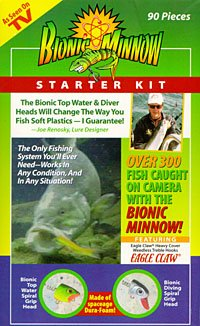 Bionic Minnow Starter Kit- 90 Pieces
