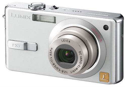 Panasonic LUMIX FX7 シルキーシルバー DMC-FX7-S