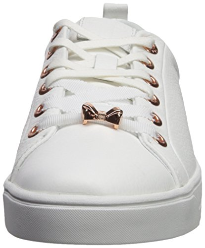 Baker Ted Kellei Women's White Harmony Sneaker PUUFOrWT