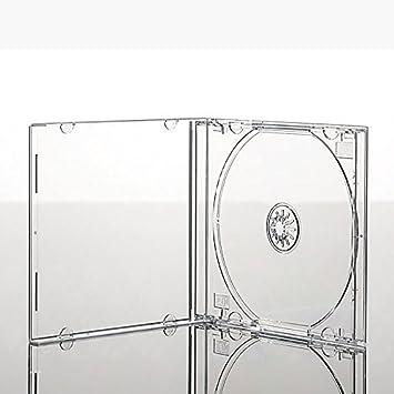 25 x CD con cajas Premium de cajas de bandeja transparente ...