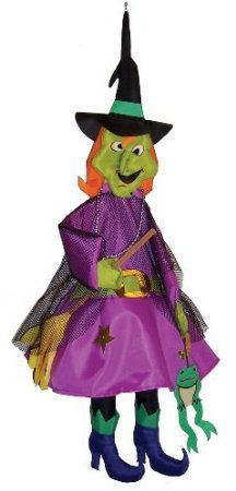 In the Breeze Witch Wind Friend 3D Windsock (Witch Windsock)