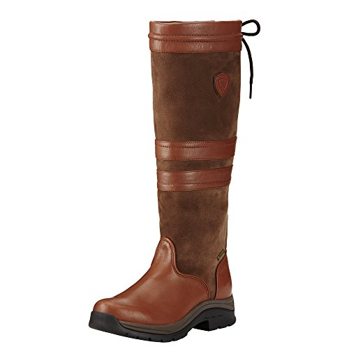 Ariat Women's Braemar GTX Country Boot, Chestnut, 8.5 B US (Ariat Chestnut Boots)