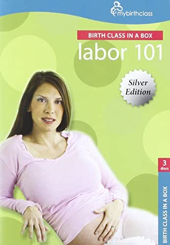 Labor 101: The Award Winning Birth Class in a Box 3 Disc set (1 DVD + 2 CDs) Labor & Delivery: Experts on Birth DVD, All About Labor CD, Relaxation & Pain Management CD learn what to expect during every stage of labor view real Live Birth, Breathing, Relaxation, Options, Procedures, Childbirth Education Video