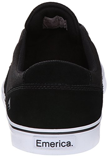 Emerica Provoost Slanke Vulc Skate Schoen Zwart / Wit