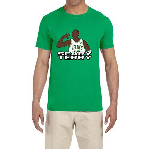 Deetz Shirts GREEN Boston Scary Terry T-Shirt YOUTH SMALL