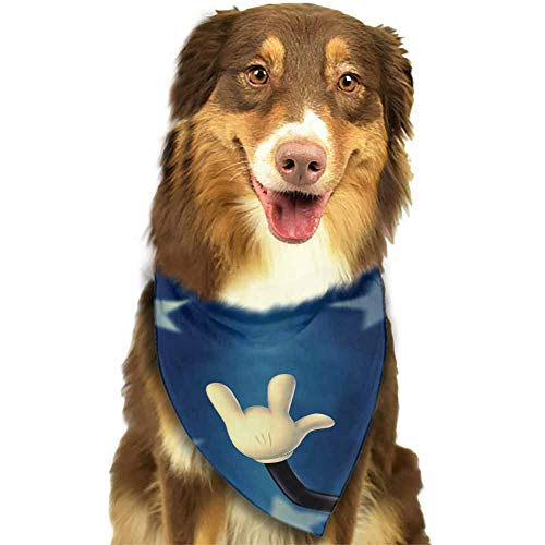Dog Bandana,Pet Costume Accessories,Size:side-18