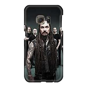 Protector Hard Cell-phone Case For Samsung Galaxy S6 With Custom Attractive Amorphis Band Skin TammyCullen