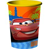 Disney's Cars 2 - Grand Prix 16 oz. Plastic Cup Party Accessory (1 count) by Hallmark