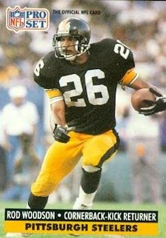 be3c5ca8447 ... Steelers Fans Pittsburgh 26 Rod Woodson Cartoon Figure Picture Printing  Share Facebook Twitter Pinterest Rod Woodson Gridiron Classic Throwback  Jersey ...