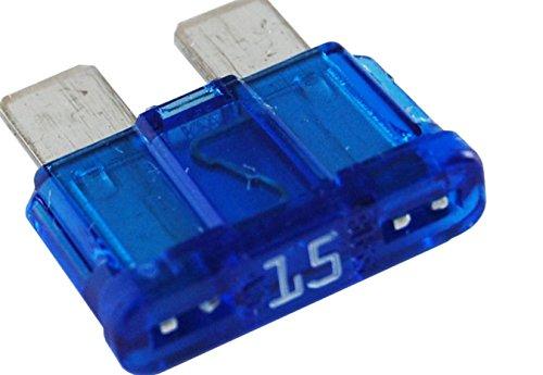 ATC ATO 15 blue amp fuse 10 pieces automotive blade (Street Billet Electronic)