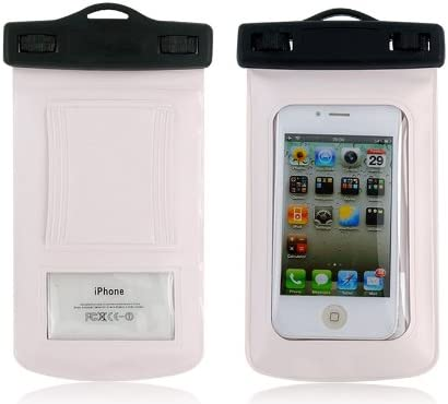 WP310 8m Waterproof Bag Case with Strap for iPhone (White) + ...