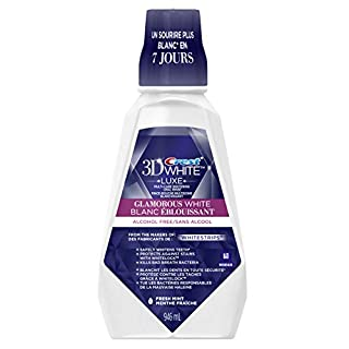 Crest 3D White Glamorous Whitening Mouthwash, Protects Against Stains, Fresh Mint, 946 ml (B00BR1V4J2) | Amazon price tracker / tracking, Amazon price history charts, Amazon price watches, Amazon price drop alerts