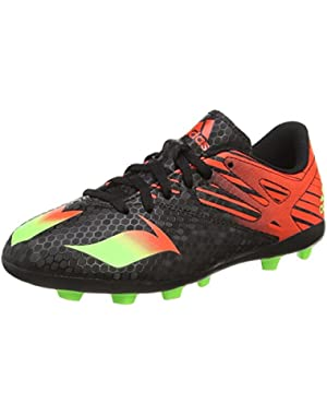 Messi 15.4 FxG J Black Synthetic Youth Football Shoes