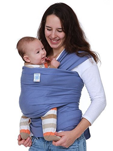 Moby Wrap Baby Carrier, Organic Lagoon