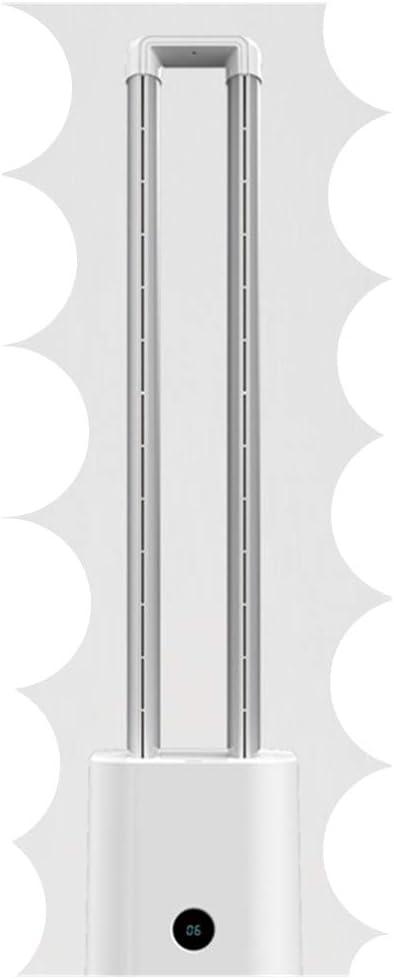 TongBao Ventilador sin aspas de 40 Pulgadas, Ventilador multiplicador de Aire, Ventilador de Torre para humidificador de Aire y purificador de Aire cómodo y silencioso, Pantalla LED,Negro: Amazon.es: Hogar