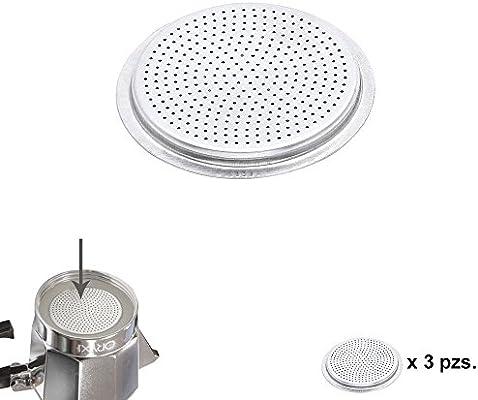 ORYX 5056113 Filtro Cafetera Aluminio Classic/Inducción 9 Tazas (3 ...