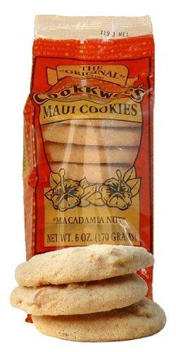 Macadamia Nut Cookkwee's Maui Cookies 6 Ounces by Tikimaster.com