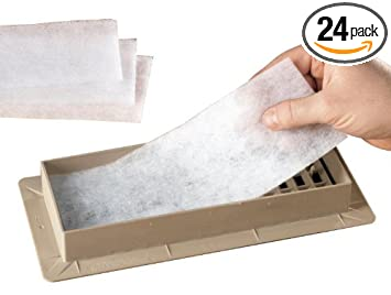 air conditioning vents replacement. vent filters (pack of 24) air conditioning vents replacement