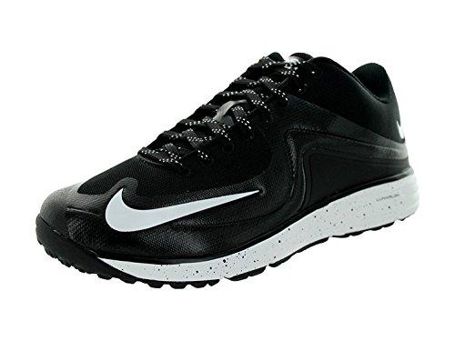 Nike Mens Lunar MVP Pregame 2 Training Shoe, Negro/Blanco, 44 D(M) EU/9 D(M) UK