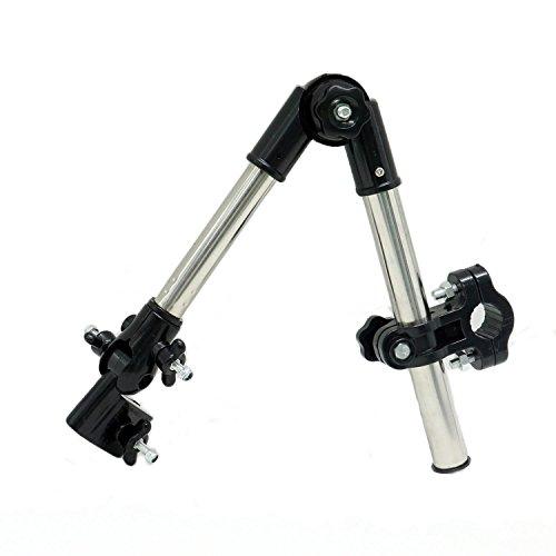 HUELE Suitable Bike Wheelchair Stroller Chair Umbrella Connector Holder Mount Stand Attachment (Wheelchair Umbrella Mount)