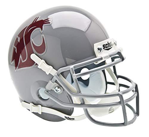 Schutt NCAA Washington State Cougars Mini Authentic XP Football Helmet, Classic -