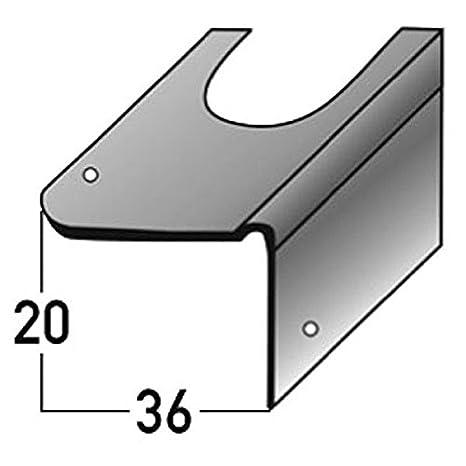 Soportes de reparación para la renovación de la escalera , para escaleras de hormigón, acero