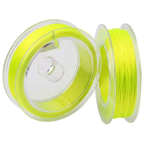 Cheap Sougayilang Fly Fishing Line, Braided Lines, Saltwater Freshwater Salmon Backing Line,Tippet Tapered Leader Test 20lb 30lb 100yards