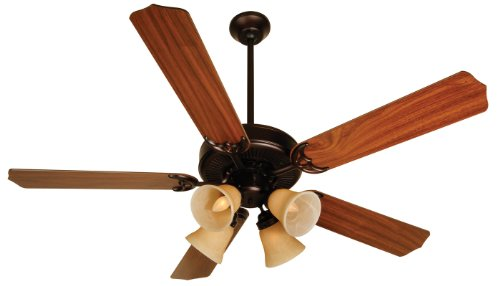 Craftmade K10635, Pro Builder 204 C204OB Ceiling Fan in Oiled Bronze with 52
