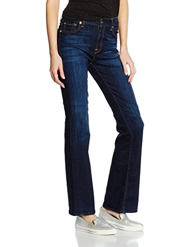 7 for all mankind Bootcut, Jeans Mujer Azul (Indigo)