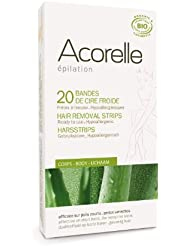 Acorelle Body Wax Strips, Tan, 0.16 Ounce