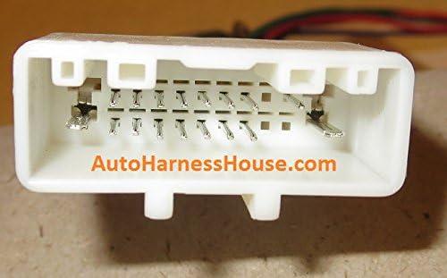 20-pin Subaru/Nissan Headunit/Radio Wiring Harness with ... on