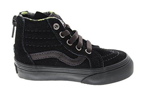 Sk8 Mte Black Lime hi Sneaker Kids Vans Zip 7T88fP