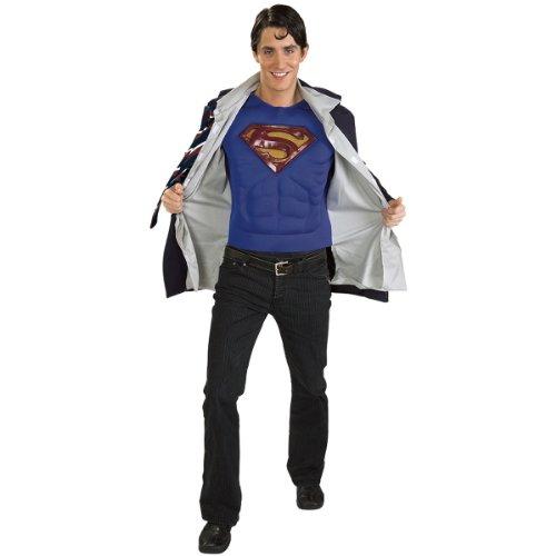 Adult's Clark Kent Superman Returns Costume (Size: X-Large)