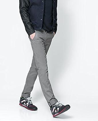 5c3f2ecd82 Men's Zara Chino Brand New (36, Grey): Amazon.co.uk: Clothing