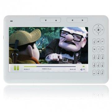 AL-E700 Ebook 7 Inch Screen 4GB Ebook Reader With 720P MP4 ...