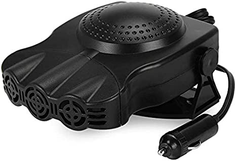 Fast Heating Defrost Defogger Portable Car Heater,2 in 1 Portable Fast Heating Car Heater with Heating /& Cooling Function