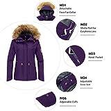 Wantdo Women's Cotton Padded Winter Jacket
